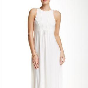 TART white maxi dress